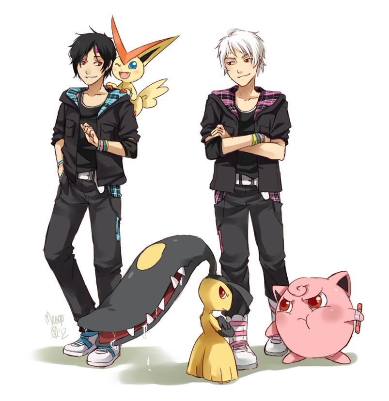 Damien and Riley by meago on DeviantArt | Anime - Pokémon | Pinterest