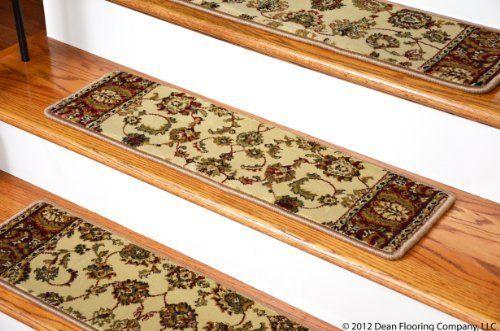 Best Dean Premium Carpet Stair Tread Rugs Elegant Keshan 400 x 300