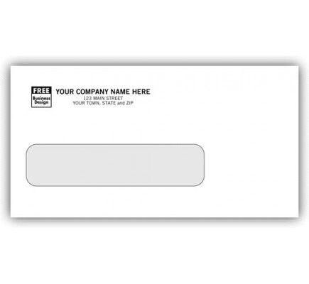 6 Single Gummed Window Envelopes 5026 Window Envelopes Business Envelopes Free Company Logo