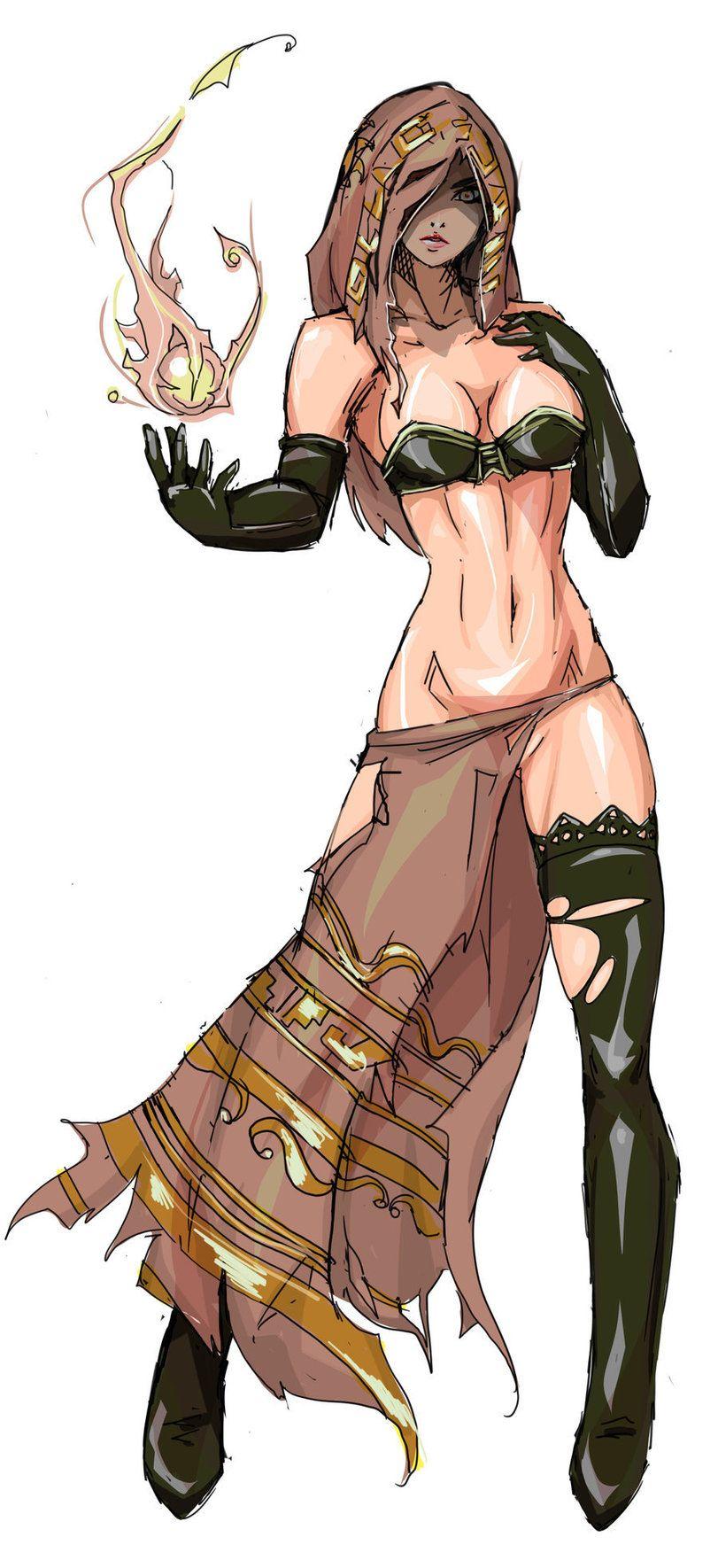 Desert Sorceress,Dark Souls,фэндомы,Agacross,DS art