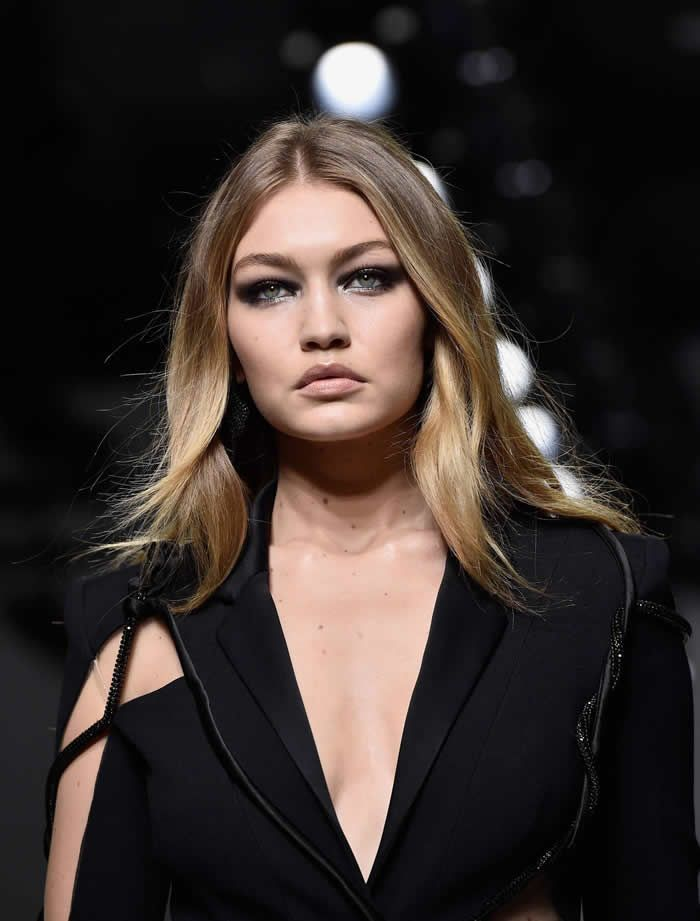 Gigi Hadid Hits the Runway in the Sexiest Suit You'll Ever Lay Eyes On
