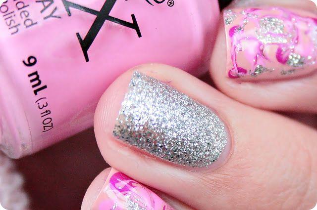 Malý koutek krásy: Dry marble v růžovém tónu :)