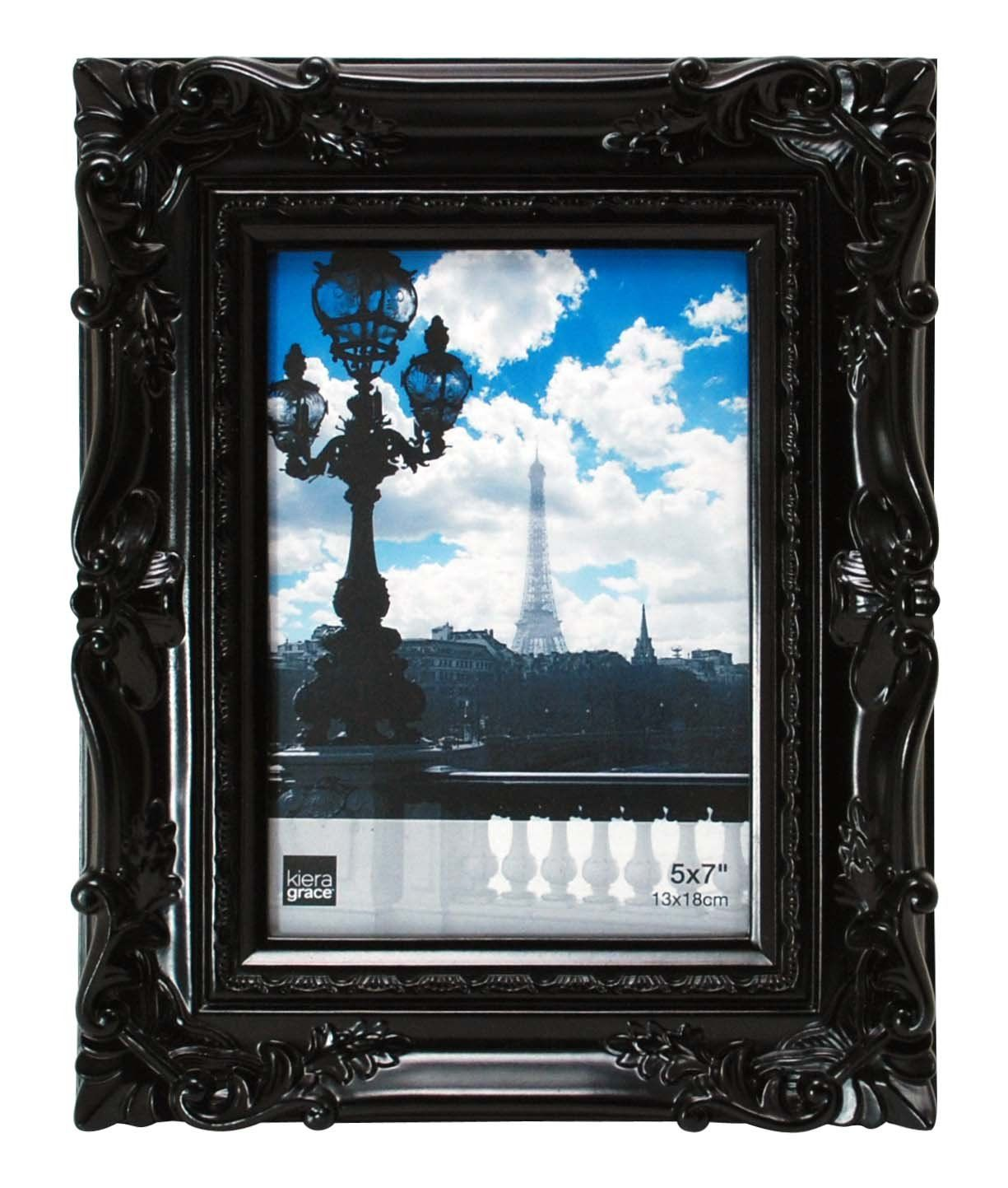 Amazon.com - Kiera Grace Virginia Ornate Photo Frame, 5 by 7-Inch ...