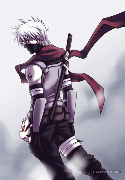 Kakashi Hatake From The Anbu Black Ops Days Com Imagens