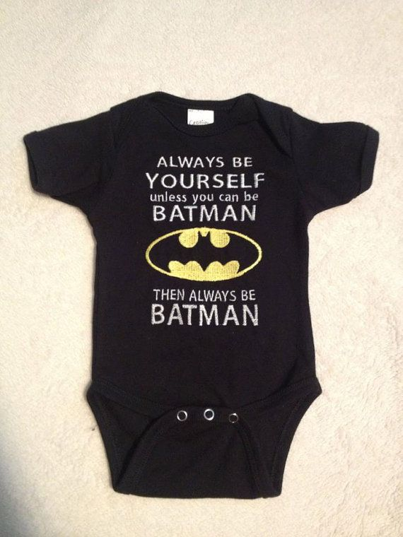Batman shirt always be yourself unless you can be by