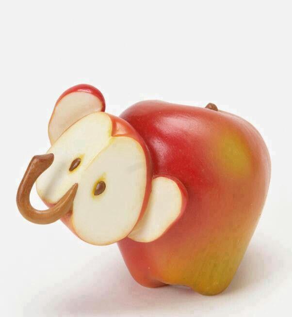 elefante de maça