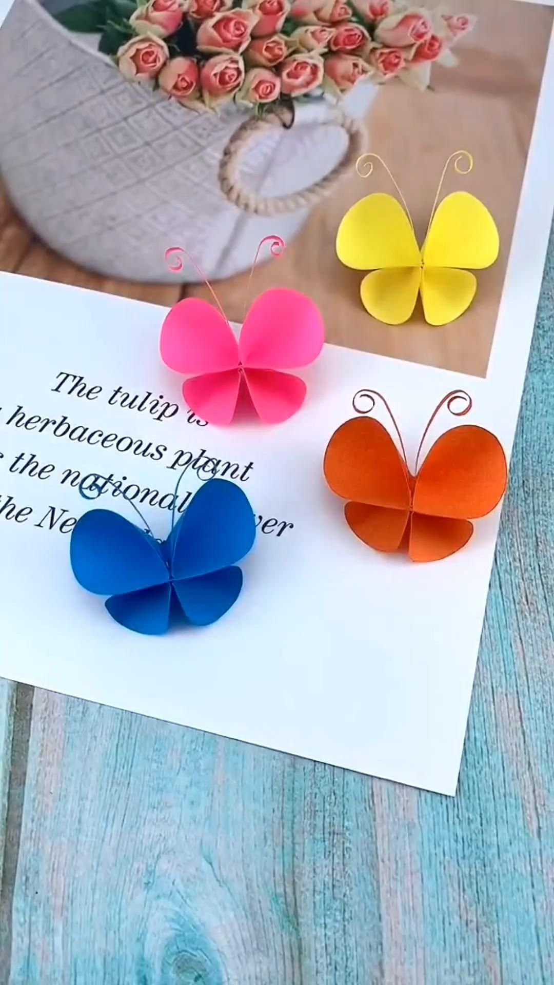 Diy Butterfly Origami Craft In 2020 Paper Crafts Paper Crafts Diy Kids Origami Crafts