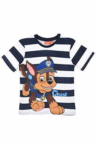 41021147a T-shirt manches courtes Pat patrouille ( Paw Patrol ): Un produit autorisé  officiel. Guide des tailles: 3 ans – 98 cm, 4 ans – 104 cm, 6…