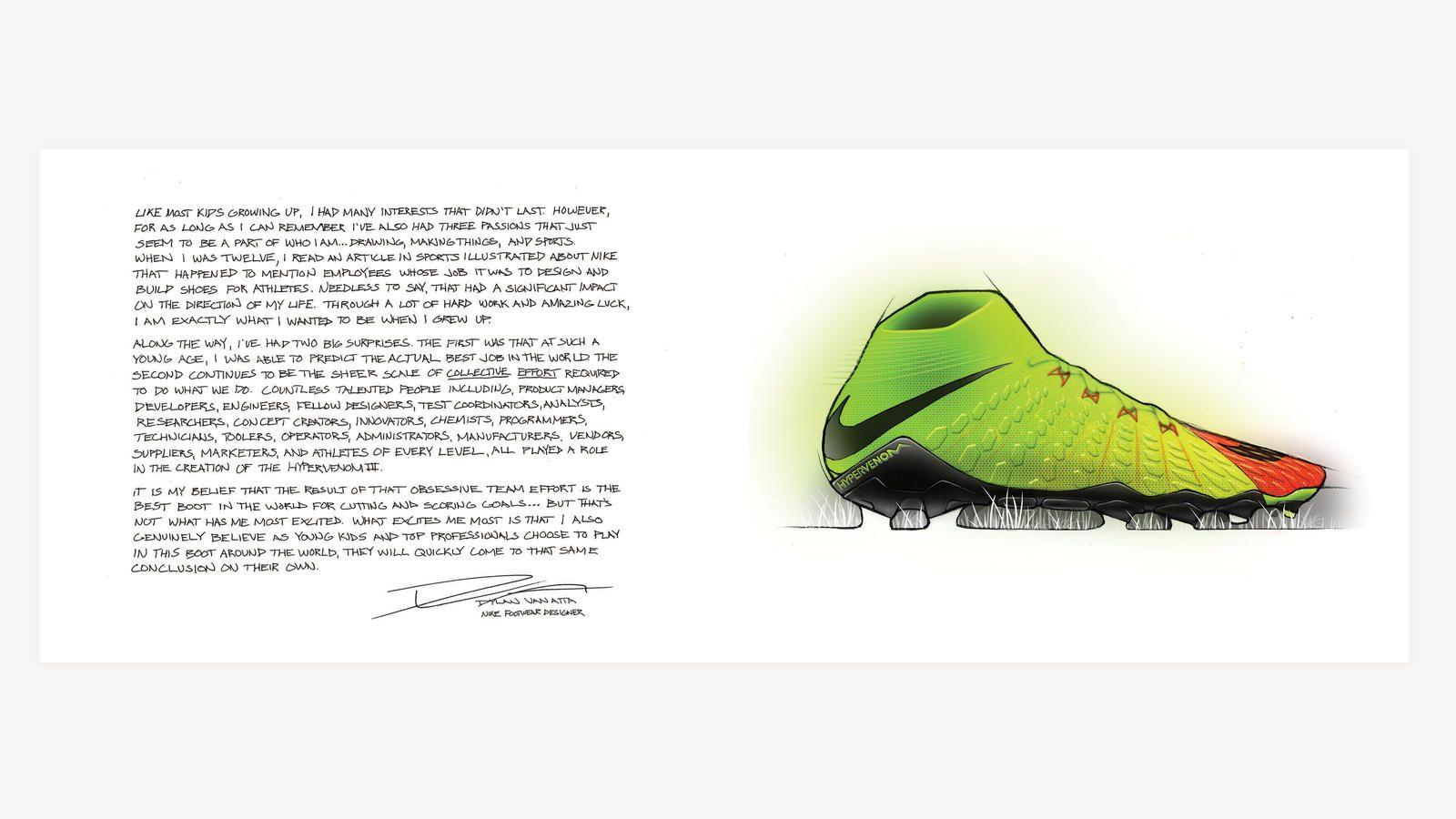 sale retailer 63b0f 18413 Nike News - Nike Hypervenom 3. From sketch to scoring machine, Nike unveils  the new Hypervenom 3. The boot will
