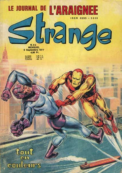 Marvel Comics in French