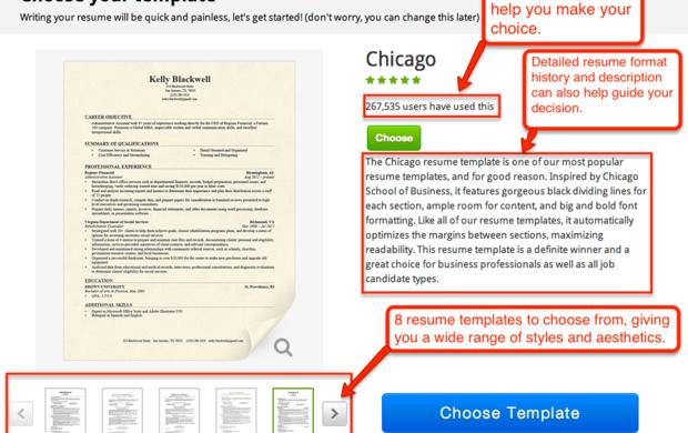 Linkedin Online resume template, Resume templates, Free
