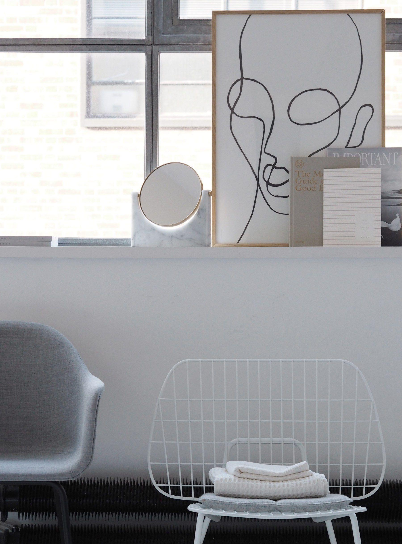 Shoreditch Design Rooms: MENU's New Minimal Loft Apartment Show Flat In London's