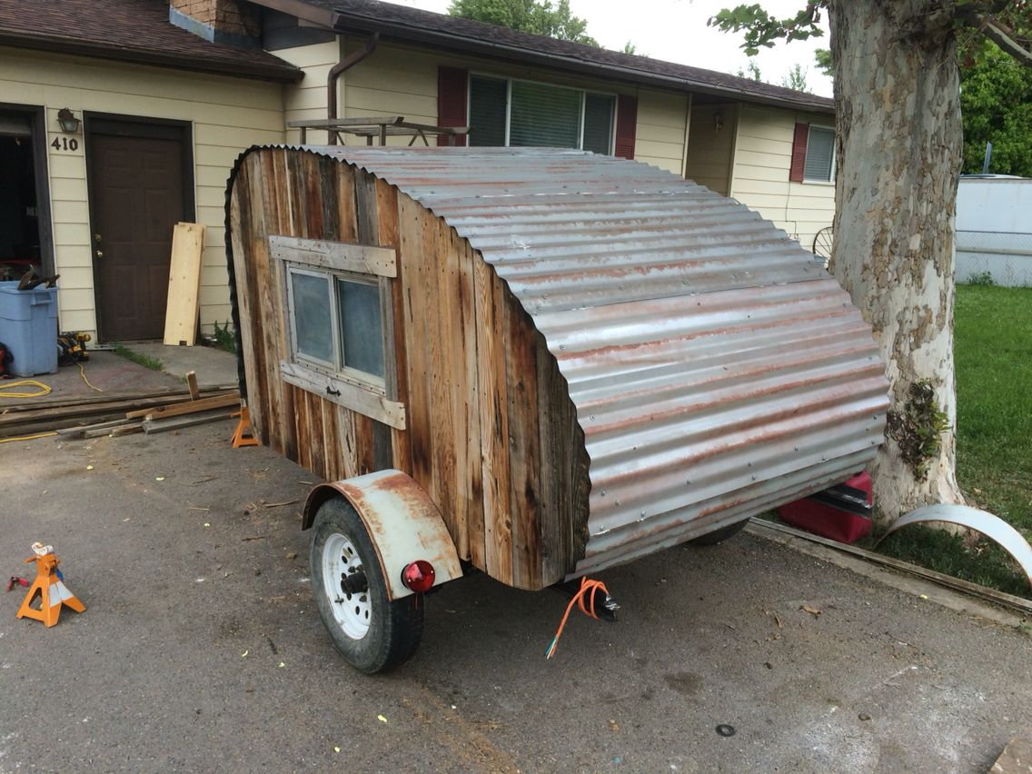how to build a trailer out of wood