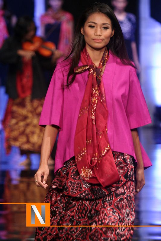 NWSyal10  traditional fashion teenagers cloth Batik