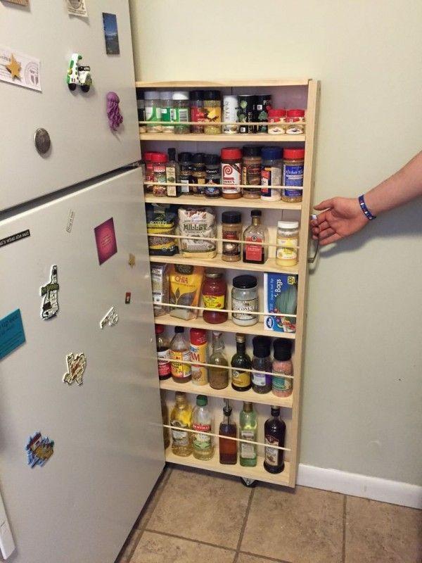 Clevere Platzsparer | organize | Pinterest | Sorgen, Küche und ...