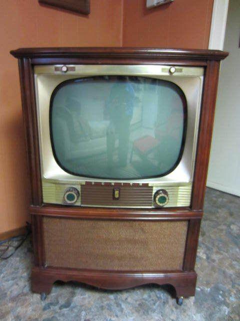 Zenith 1954 Television Floor Model Feeling Nostalgic Pinterest