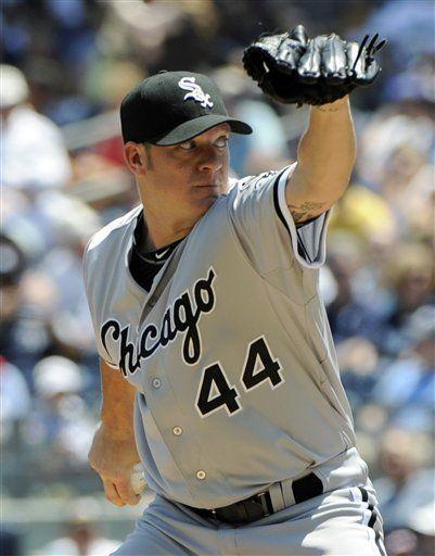 Chicago White Sox starter Jake Peavy