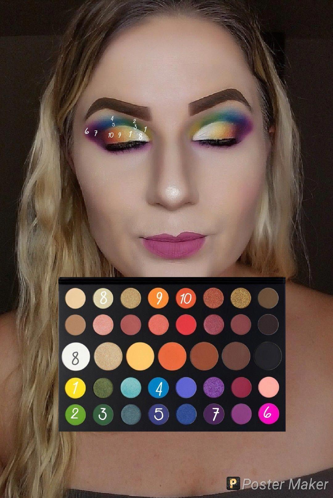 Photo of #eyeshadow make-up glitter #eyeshadow för makeupartist # pink eyeshadow make-up ur …