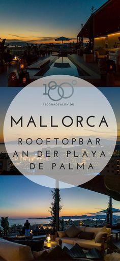 Mallorca Geheimtipp an der Playa de Palma - Rooftopbar mit Restaurant , der schönste Sonnenuntergang an der Playa