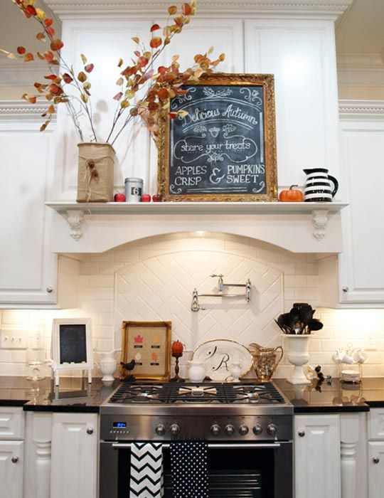 Fall Kitchen Decorating Ideas Part - 19: Fall Is Coming: 8 Inspirations To Decorate Your Kitchen