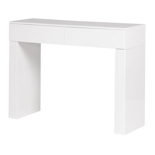 High Gloss White Console Table   With Free Delivery