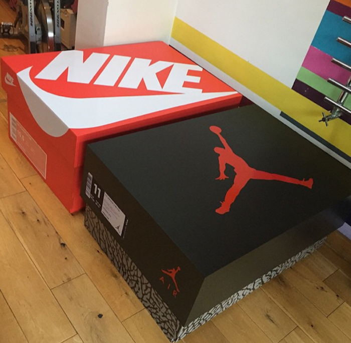 jordan shoe box shoe holder