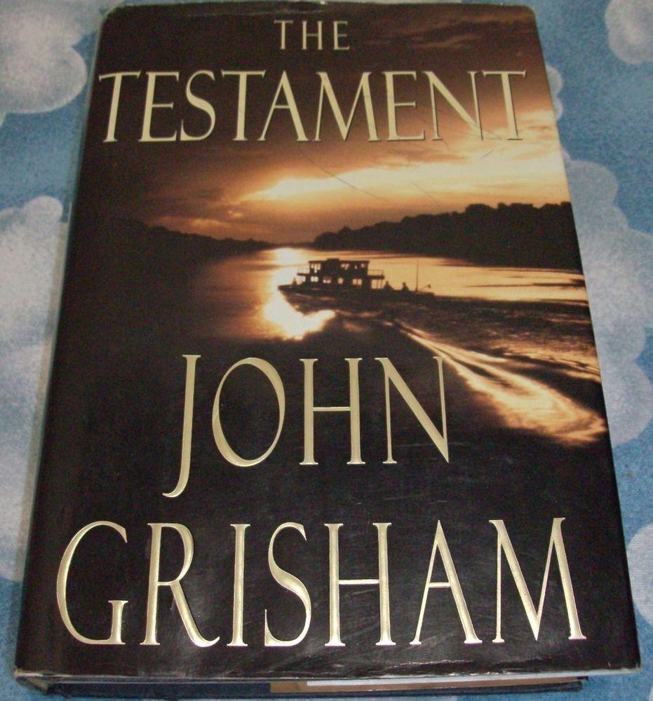 John grisham testament 1999 hardcover paperback 1st