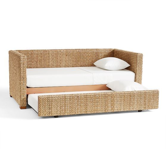 Seagrass Daybed With Trundle Pottery Barn Daybed With Trundle
