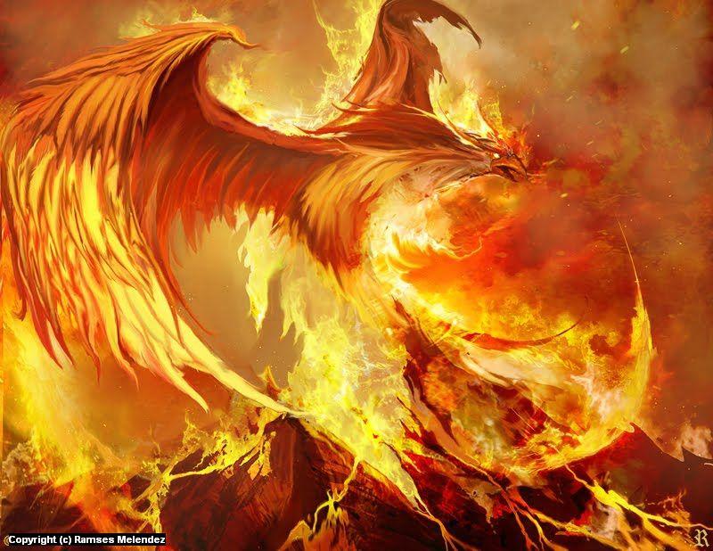 Phoenix - Ramses Melendez Art | - 89.0KB