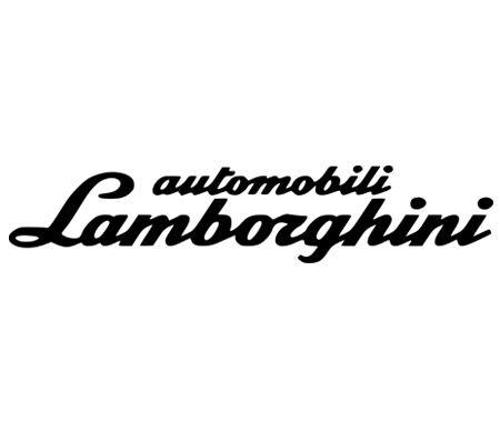 Logo Lamborghini Wordmark Download Gambar Dan Vector Download