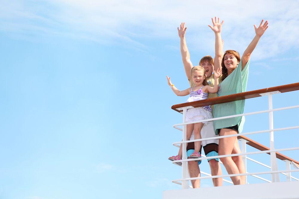 kids on a cruise ship