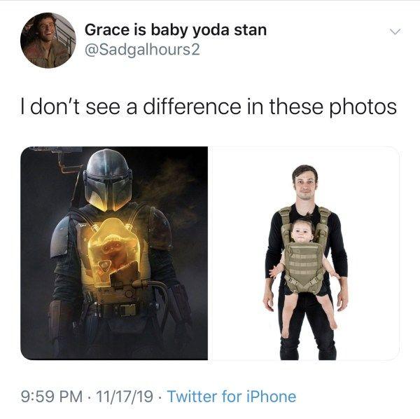 Mandalorian Baby Yoda Memes Best Baby Yoda Memes Funny Baby Yoda Memes Baby Yoda Tweets Baby Yoda Jokes Memes Y Star Wars Humor Star Wars Fandom Yoda Meme