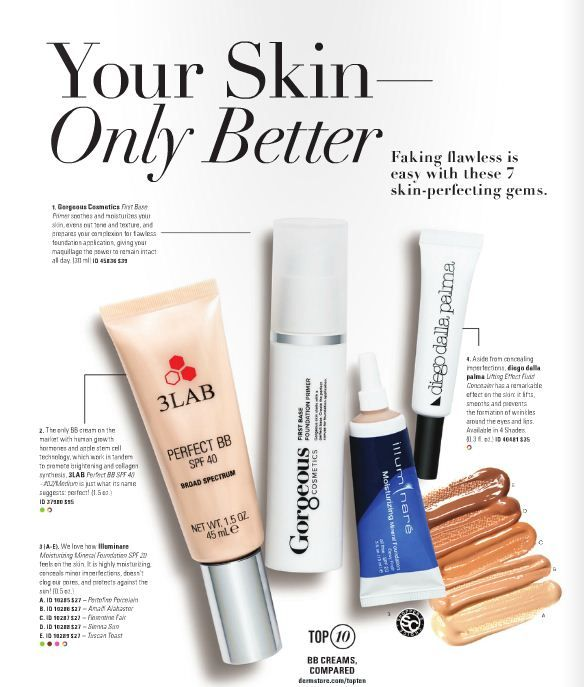 Primer, BB, foundation, concealer...whatever you need is here! Click the page to shop around.  #themagazine