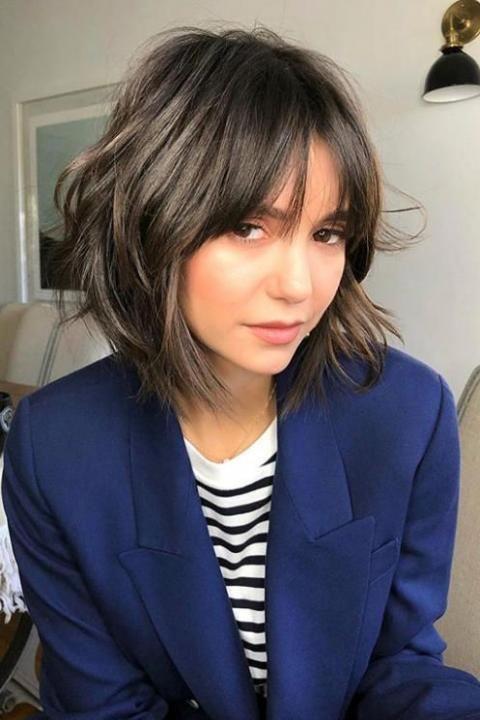 """La coiffure """"shag"""", la nouvelle tendance capillaire à"""
