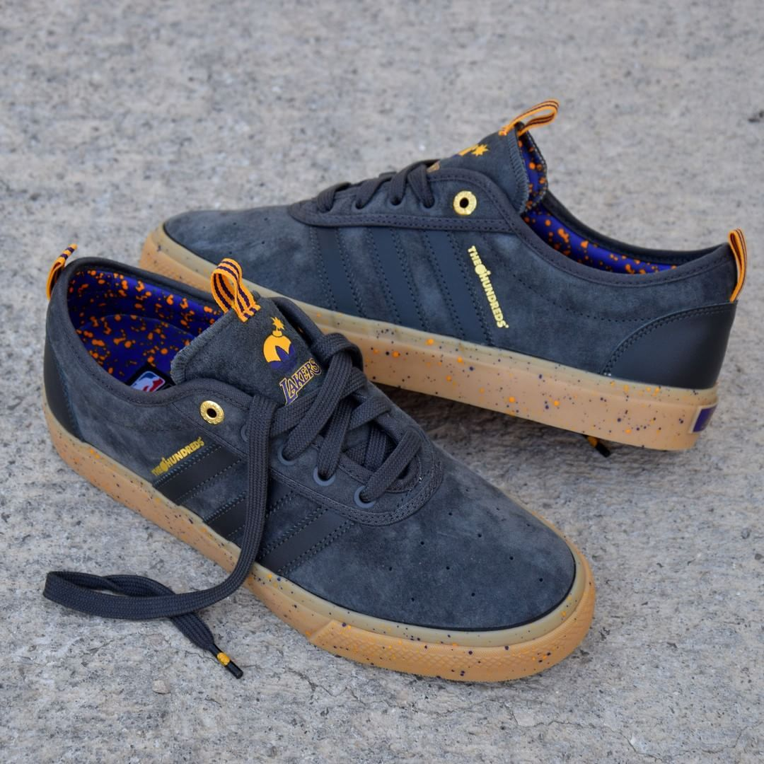 The Hundreds X Adidas Skateboarding Adi Ease Sneakers Casual