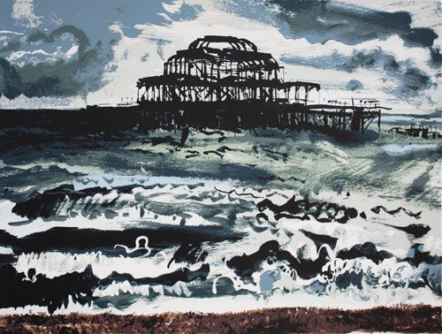 West Pier, Brighton by Andy Lovell