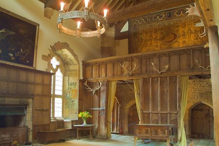 Haddon Hall, Great Hall Towards Screens Passage