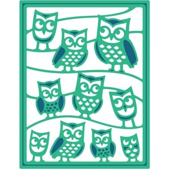 Spellbinders Shapeabilities It's A Hoot Owls Die