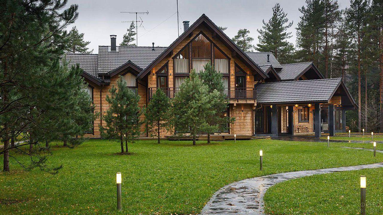 Фото частных деревянных домов в 2020 г | Деревенский ...