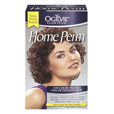 Ogilvie Salon Styles The Original For Color Treated Thin Or Delicate Hair Home Perm 1 Ct Box