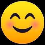 Smiling Face With Smiling Eyes Smiling Eyes Smile Face Eyes Emoji
