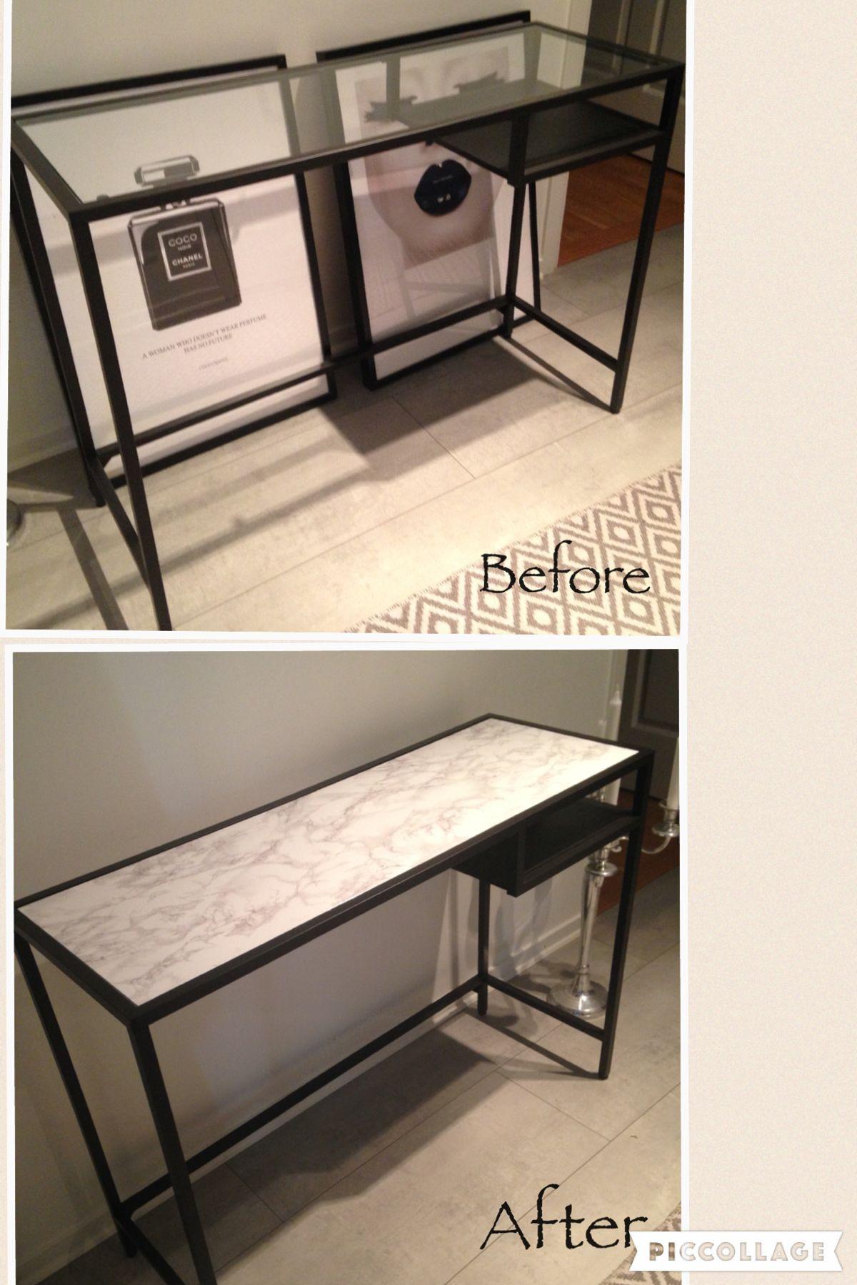 Vittsjö avlastnings bord fr¥n Ikea Göra själv