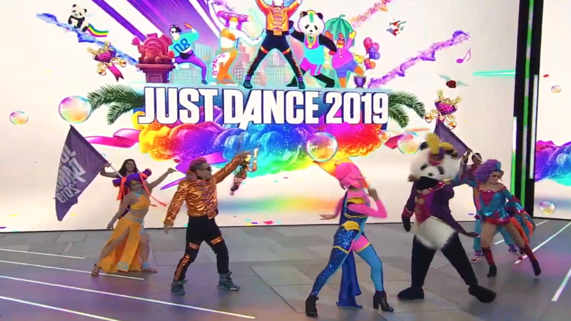 Just Dance 2019 was today announced at Ubisoft's E3 2018 press