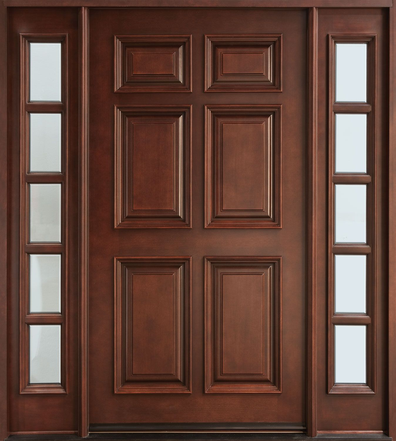 Wood Doors Simpson Door has built handcrafted solid wood doors ...