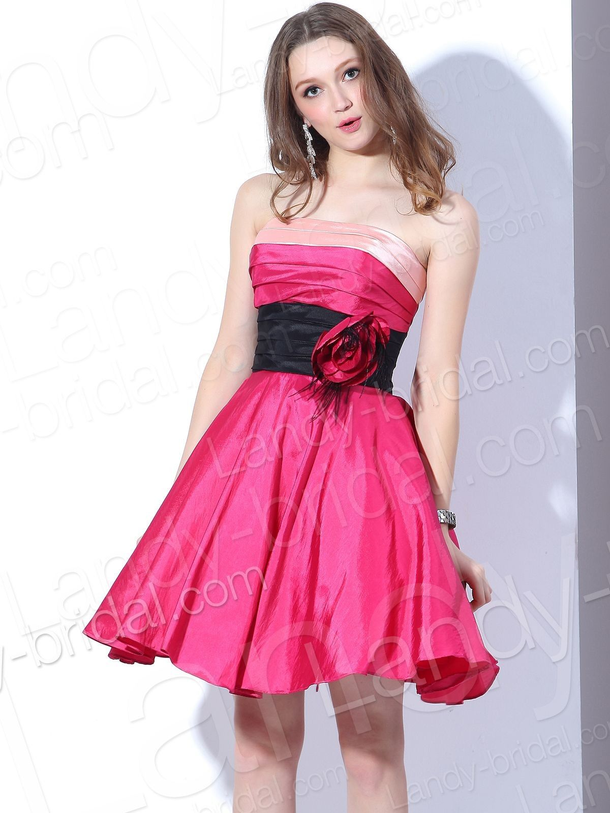 pink dress   Party dresses   Pinterest   Pink dresses, Red party ...