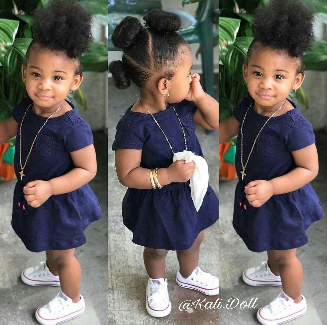 Cute Black Babies Lilblackbabies Twitter Kids Hairstyles Girls Natural Hair Styles Easy Black Baby Hairstyles