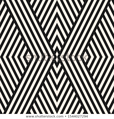Vector Geometric Lines Seamless Pattern Black And White Texture With Stripes Thin Diagonal Lines Geometric Lines Seamless Patterns Geometric