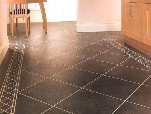 Your Place For Vinyl Tiles Badly Set The Only Fix Is A Do Over In 2020 Best Vinyl Flooring Vinyl Tile Flooring Karndean Design Flooring