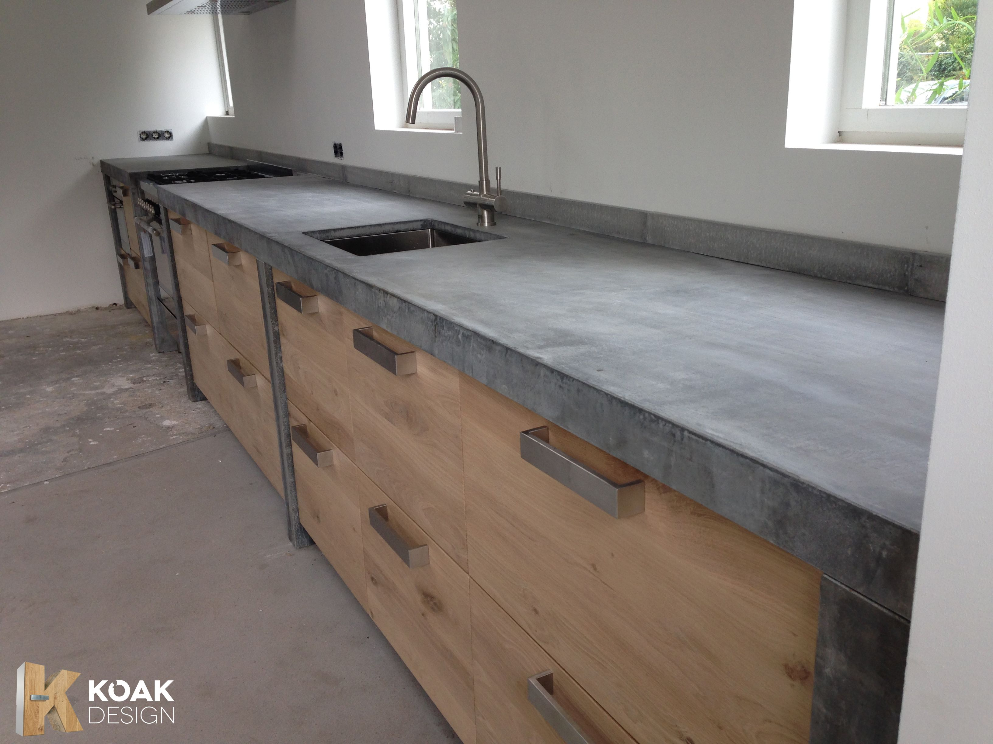 Neue Ikea Küche Metod Betonkueche Concrete Kitchen Concrete Works By Dade