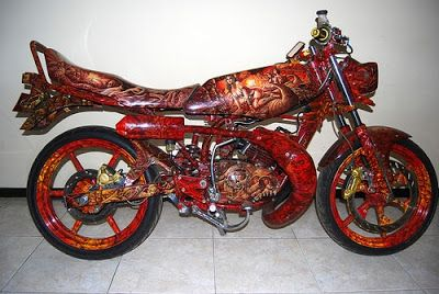 Gambar Motor Rx King Sederhana Motor Gambar Sederhana